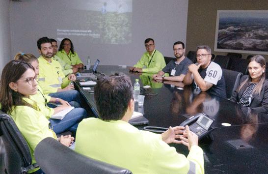 Vereadores visitam Mosaic em busca de informações sobre barragens