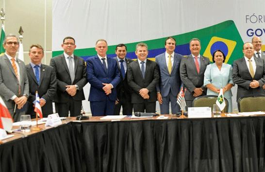 Romeu Zema participa de Fórum de Governadores em Brasília
