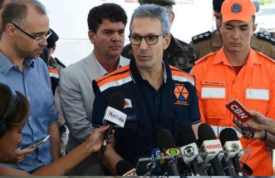 Zema propõe isenção de imposto sobre doação que será paga a familiares de vítimas da tragédia