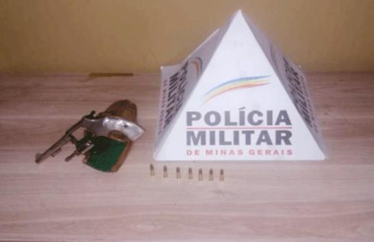 PM prende autor com arma e munição no Centro