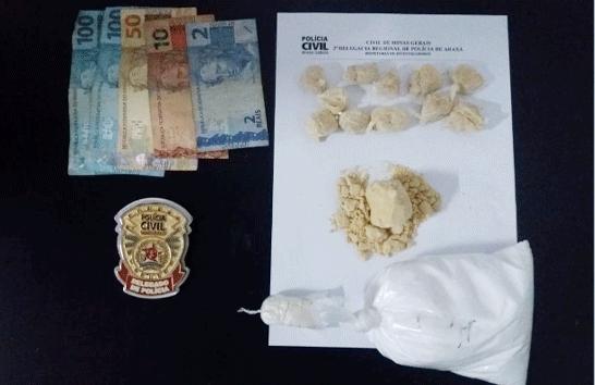 Polícia Civil prende suspeito de tráfico no bairro Alvorada