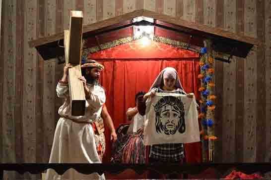 """Grupo Fratelo apresenta """"Paixão de Cristo – Um Cordel no Sertão"""" na Páscoa Iluminada 2019"""