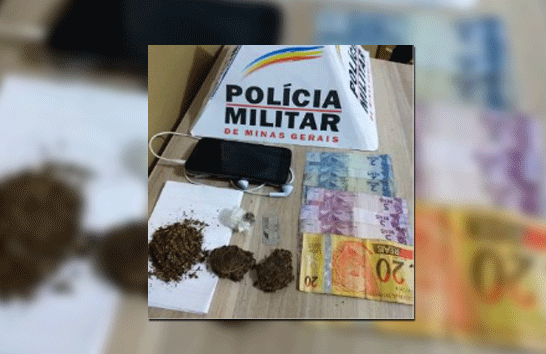 Adolescente é apreendido com droga no Urciano Lemos