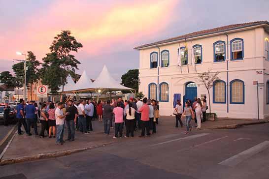 Prefeitura reinaugura espaço artístico, cultural e político da memória de Araxá