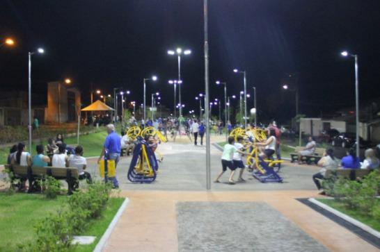 Vila Silvéria recebe praça
