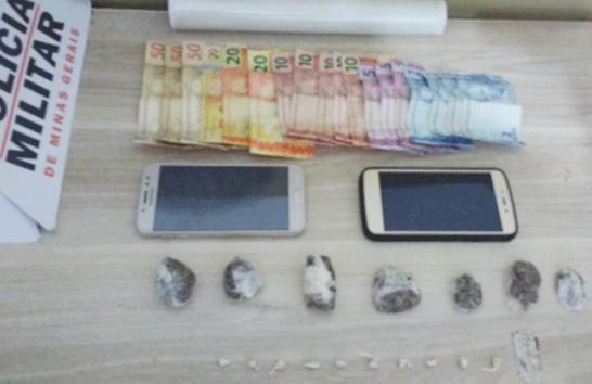 PM prende suspeitos e apreende drogas no Pão de Açúcar III