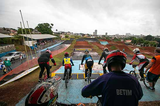 Copa Brasil de BMX contou com o apoio da prefeitura