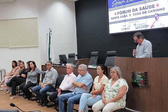 Fórum Comunitário busca medidas para captação de recursos para Casa do Caminho e Santa Casa