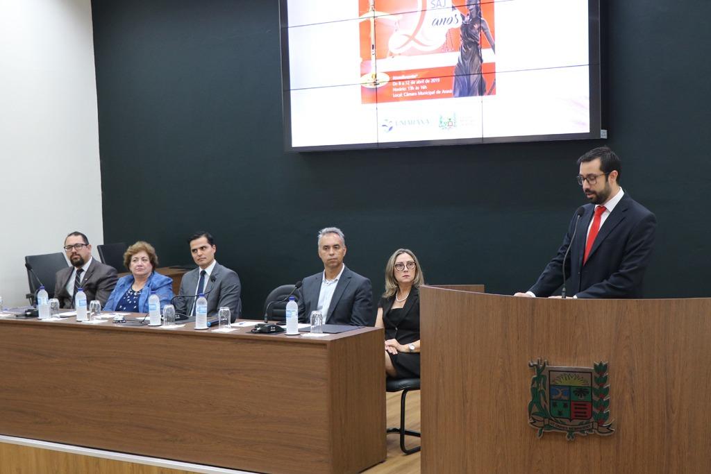 Câmara Municipal e Uniaraxá abrem semana de atendimentos jurídicos 1