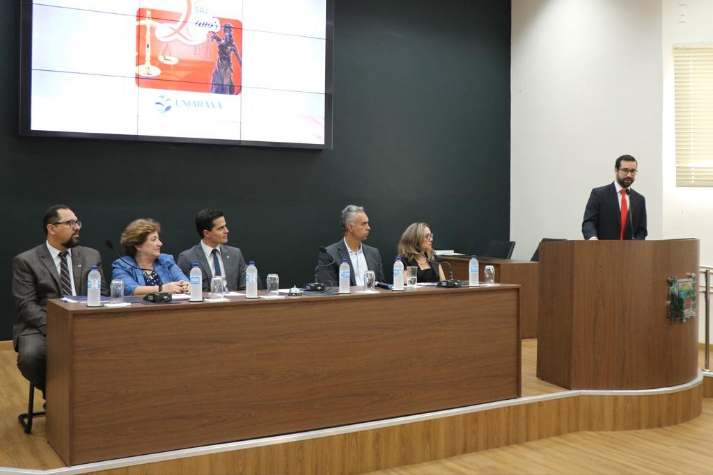 Câmara Municipal e Uniaraxá abrem semana de atendimentos jurídicos 2