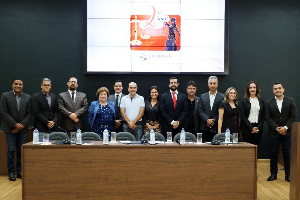Câmara Municipal e Uniaraxá abrem semana de atendimentos jurídicos 12