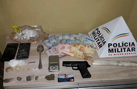 PM prende autor de tráfico no Salomão Drummond