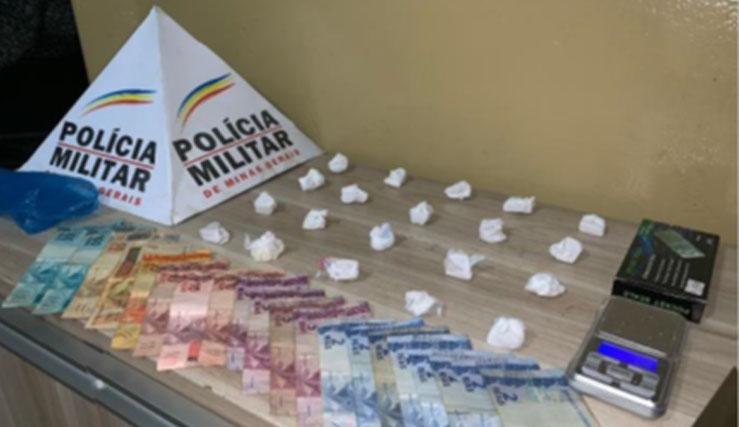 PM prende suspeitos por tráfico de drogas