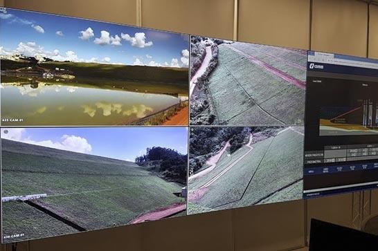 Vereadores visitam barragens da CBMM