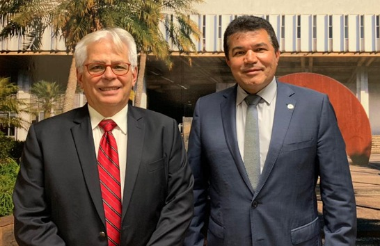 Deputado Bosco debate implantação de startup Desaer em Araxá
