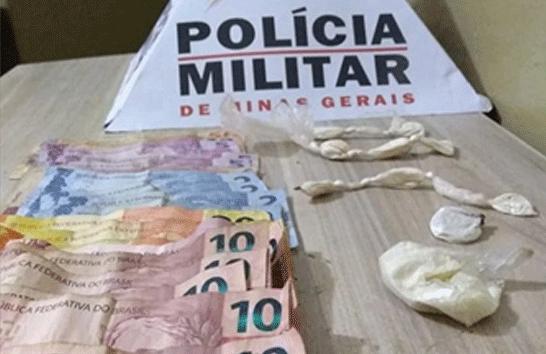 Trio é preso vendendo cocaína em porta de boate