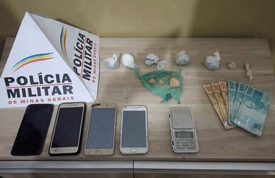 Suspeitos de tráfico são presos no bairro Orozino Teixeira