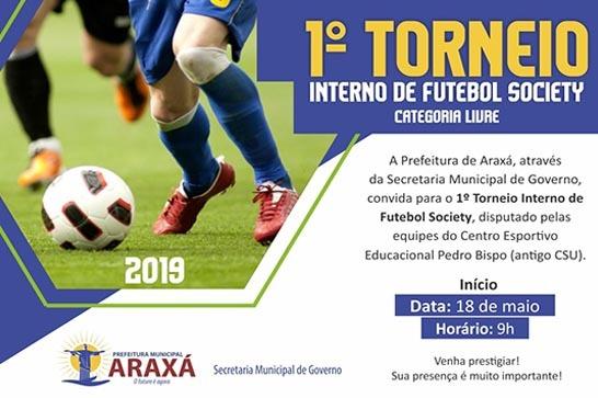 Centro Esportivo Pedro Bispo promove torneio de futebol society