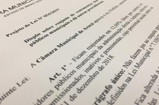 Projeto de reajuste salarial de servidores da prefeitura gera impasse por contemplar alto escalão