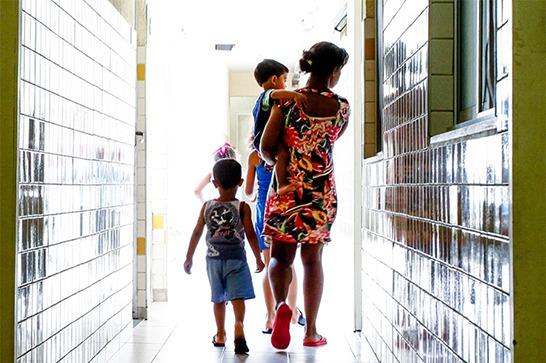 Lei prioriza vagas em creches e escolas para vítimas ou filhos de vítimas de violência