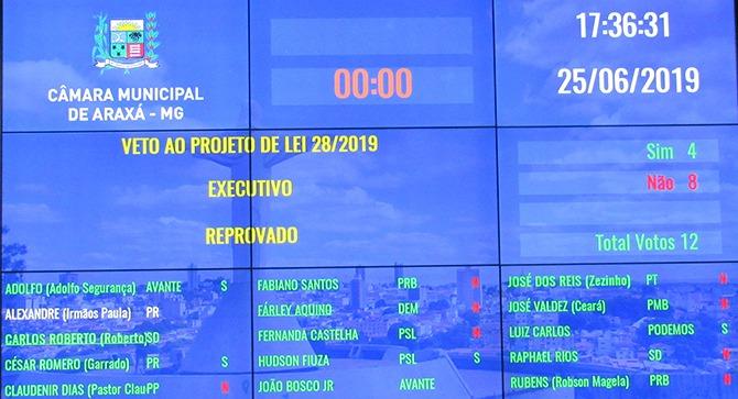 Câmara derruba veto ao projeto de isenção da taxa de iluminação pública