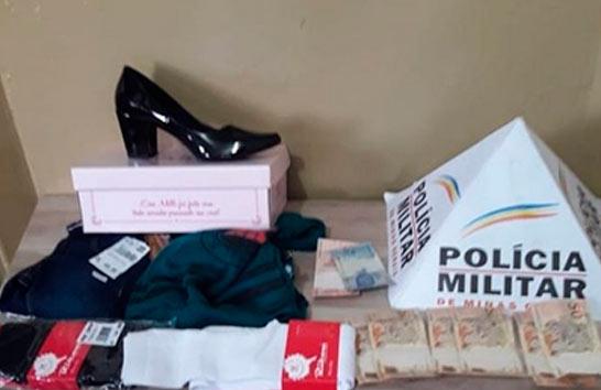 Mulher é presa por furto dentro de casa lotérica