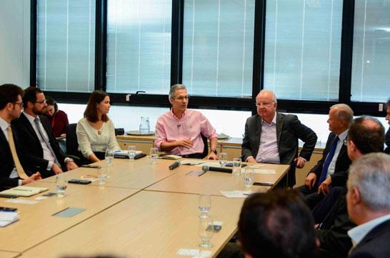 Romeu Zema participa de encontro com empresários italianos e discute atração de novos investimentos para o Estado