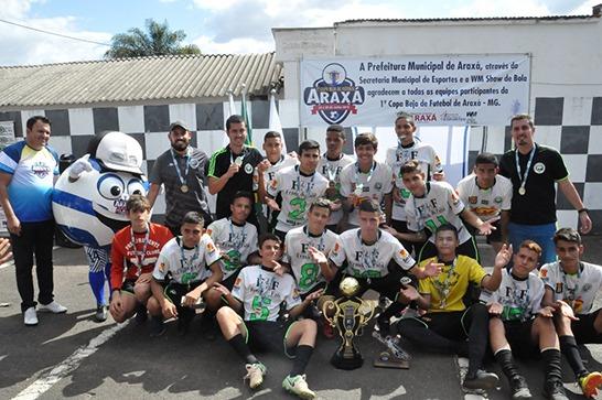 1ª Copa Beja de Futebol Araxá é encerrada com grande sucesso 6