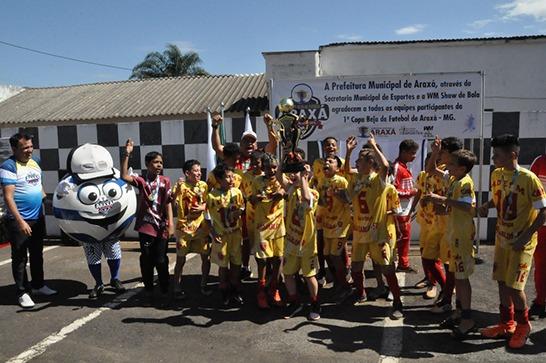 1ª Copa Beja de Futebol Araxá é encerrada com grande sucesso 8