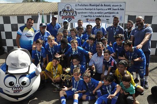 1ª Copa Beja de Futebol Araxá é encerrada com grande sucesso 1