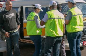 Prefeitura faz vistoria nos veículos do transporte escolar