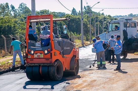 Prefeitura realiza operação tapa-buracos nos bairros do Setor Norte