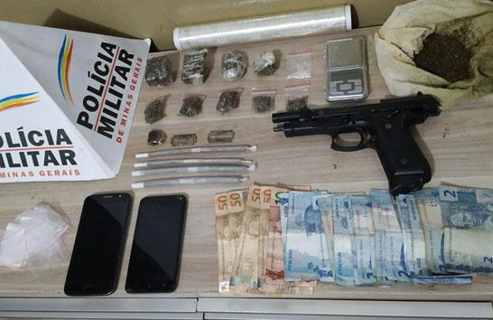 PM registra ocorrência de tráfico de drogas no João Ribeiro
