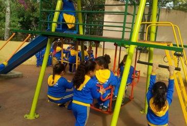 Estudantes da AABB Comunidade visitam o Parque do Cristo