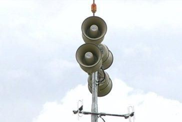 CBMM realiza testes de sirenes nesta quinta-feira