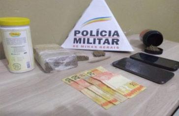 Casal é preso por tráfico de drogas