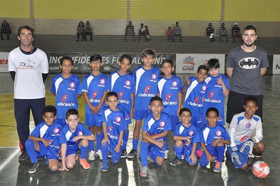 Araxá vence e avança para oitavas de final da Copa Inconfidentes Futsal Band