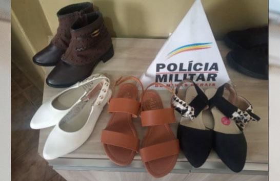 Mulher é presa por furto de sandálias no Centro