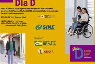 Dia D da inclusão do deficiente no mercado de trabalho
