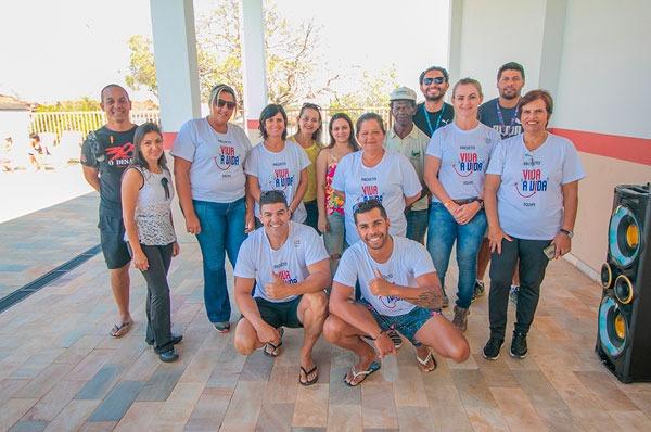 Prefeitura promove Dia da Família no Centro Esportivo Álvaro Maneira