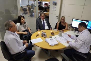 Prefeito participa de reuniões em Brasília para tratar do convênio de R$ 45 milhões