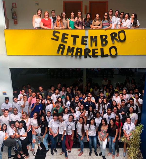 """Senac promove Campanha de Prevenção ao suicídio: """"Menos números, mais vida!"""""""