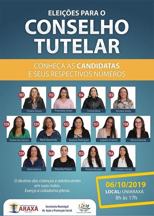 Eleição dos novos Conselheiros Tutelares de Araxá 1