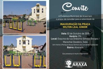 Convite: Inauguração da Praça Wilton Leal Júnior no Bairro Alvorada