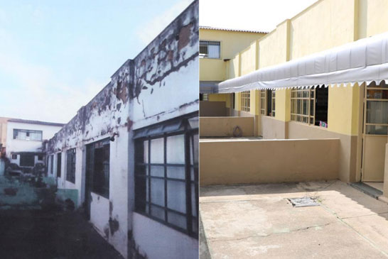 Raphael Rios acompanha manutenção e reparos na Escola Dona Gabriela 1