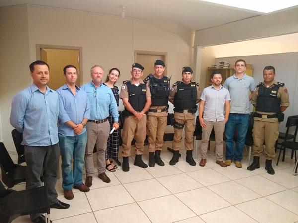 Polícias Civil e Militar discutem ações integradas de combate à criminalidade em Araxá e região