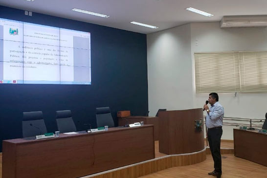 Prefeitura apresenta prestação de contas do 2° quadrimestre de 2019
