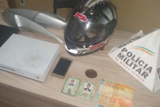 PM prende autores de roubo no bairro Santa Maria