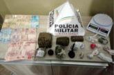 PM prende jovem por tráfico de drogas
