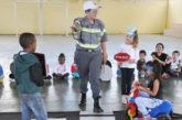 Prefeitura realiza ações de educação no trânsito para alunos de Araxá